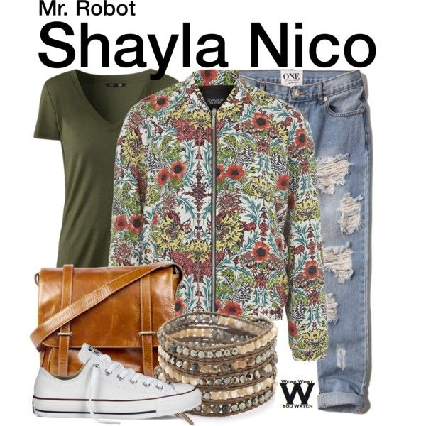 Inspired by Frankie Shaw as Shayla Nico on Mr. Robot.