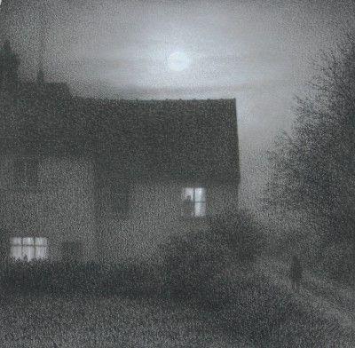 British Artist Steven OUTRAM-Silent Approach