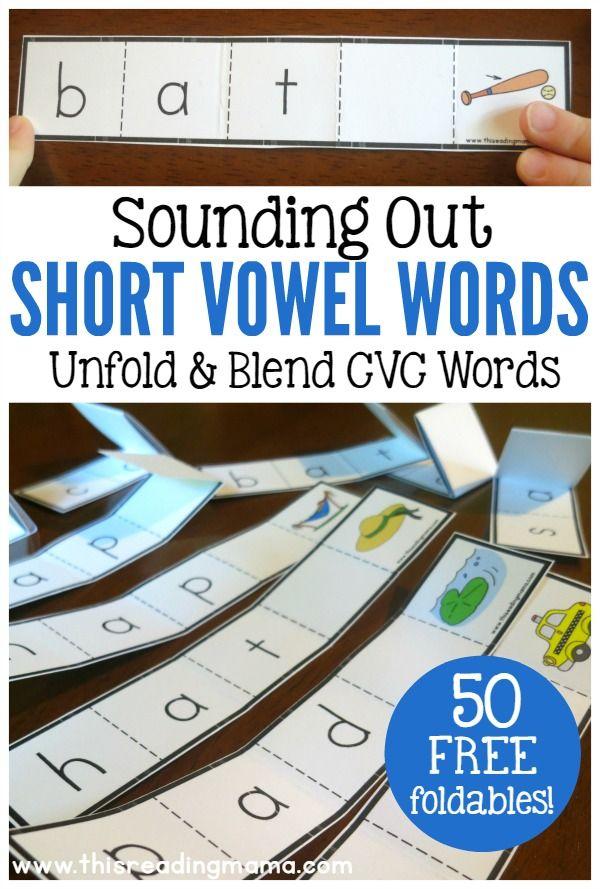 128 best Phonics, letter blends, long vowel and short vowels images ...