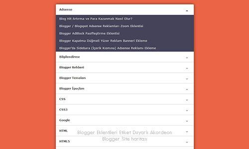 Bu kez tüm blogculara heyecan verici bir blogger widget'i olan etiket duyarlı…