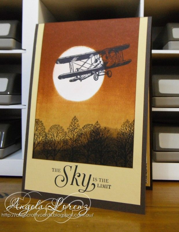 Sky Is The Limit by CraftyAng - Cards and Paper Crafts at Splitcoaststampers