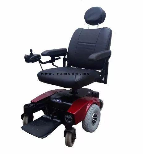 silla de ruedas electrica reestaurada con garantia