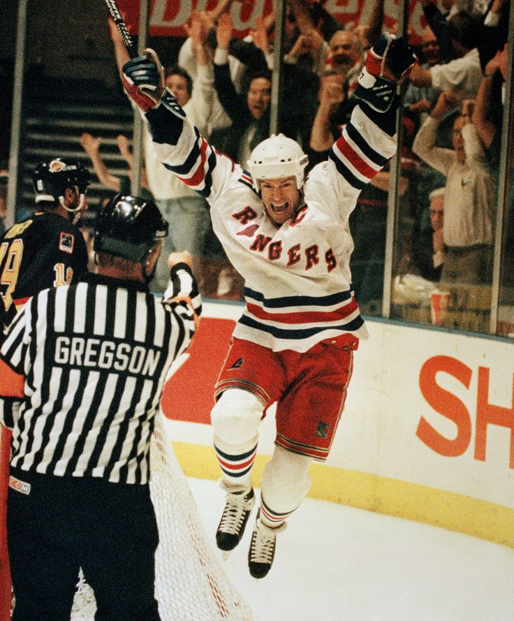 Mark Messier, the Messiah of New York Rangers hockey. And also played with the oilers.... *cough