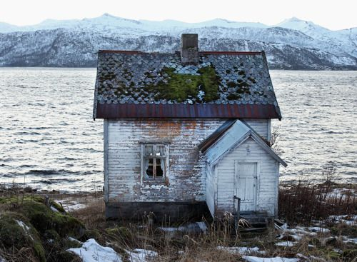 abandonedography:  Old house in Senja, Northern Norway....