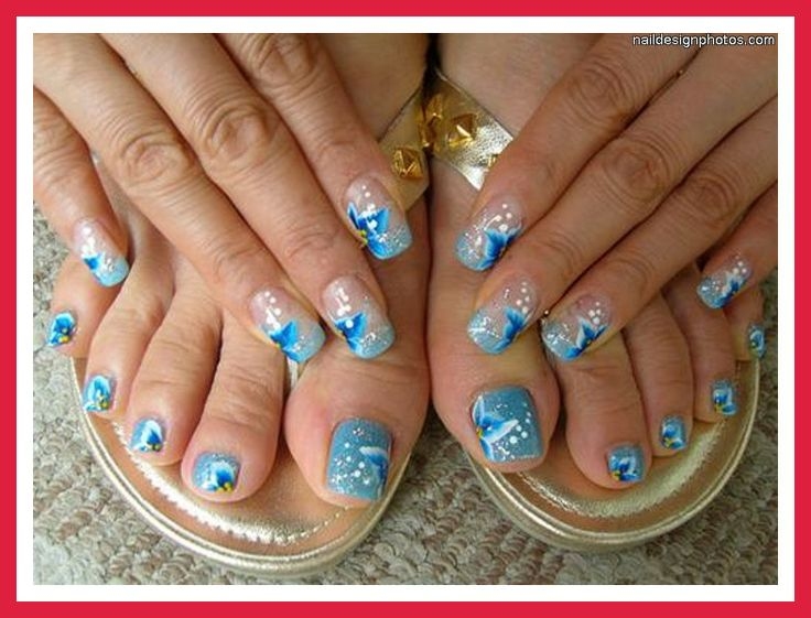 Exotic Toe Nail Designs: Toenail art easy nail designs. Despite ...
