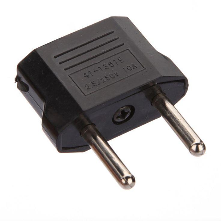 UE Plug Power UE Standard Adaptateur Voyage Convertisseur Adaptateur Ménages Plugs Puissance Adaptateur Chargeur USA ÉTATS-UNIS À L'UE Européenne Adaptateur
