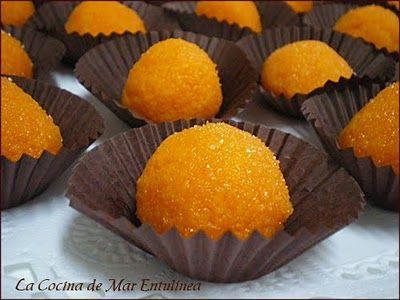 Receta Bolitas de naranja para La Cocina de Mar Entulínea