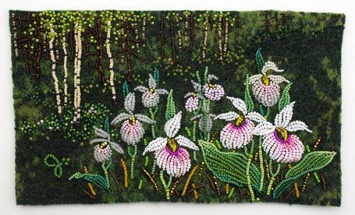 Jo Wood's Stunning Bead, Fiber and Textile Art ~ The Beading Gem's Journal