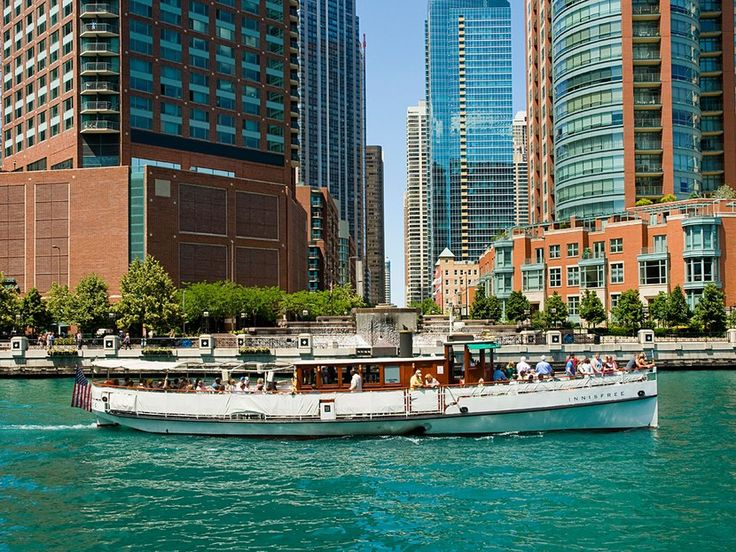 The best way to see Chicago's rightfully famous architecture is by boat. Book one of the Chicago Architecture Foundation's tours, which cruise down the Chicago River while docents discuss the history of more than 50 of the city's buildings.