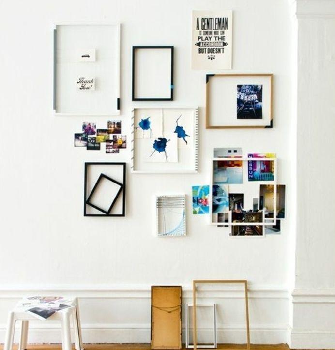 best 25 cadre photo pele mele ideas on pinterest cadre. Black Bedroom Furniture Sets. Home Design Ideas