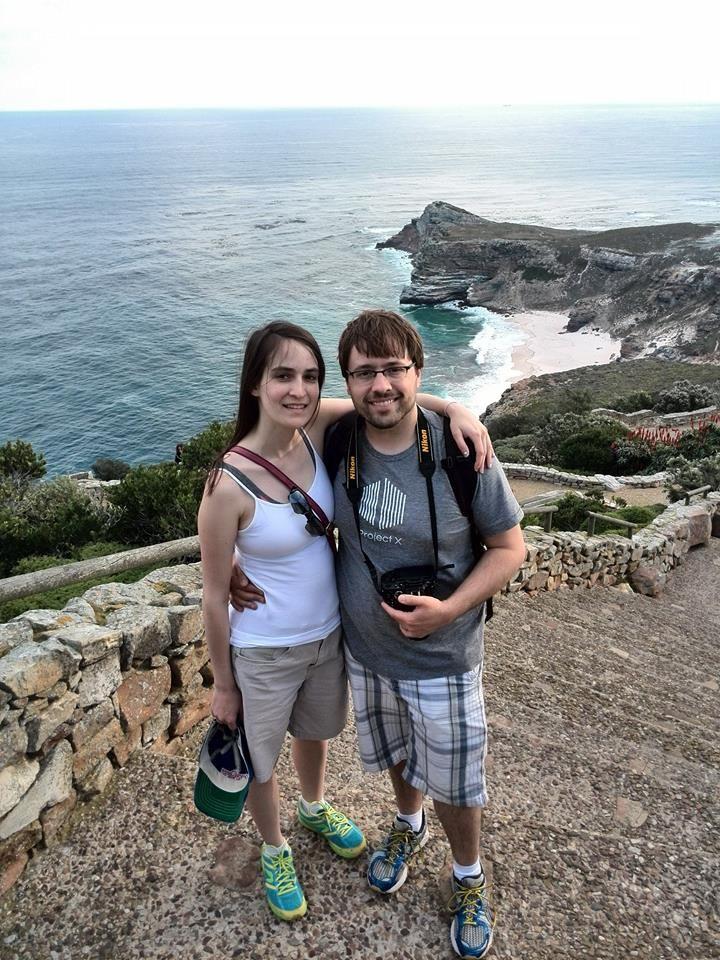 Couple from Ohio enjoying a Cape Point tour