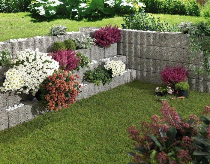Pflanzsteine Setzen Anleitung Und Ideen Fur Ihre Individualisierte Gartengestaltung Pflanzen Garten Pflanzstein