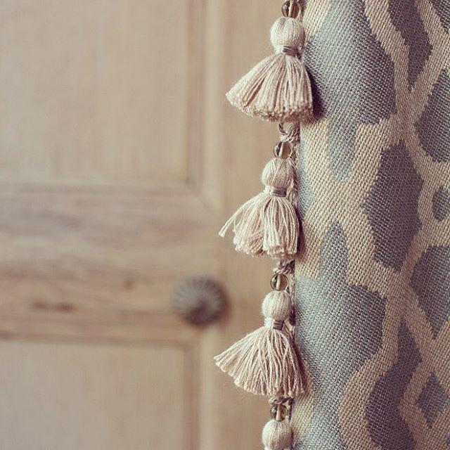 #eyefordetail #trimmings #zoffany #fabrics #linwood #interiordesign #curtains #softfurnishings #derbyshire