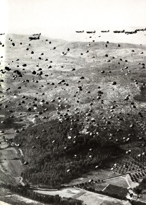 Operation Market Garden.  An unsuccessful military operation in an attempt to take control of two bridges in Germany and the Netherlands; it was the largest airborne operation at that time. Sept. 1944 second world war.