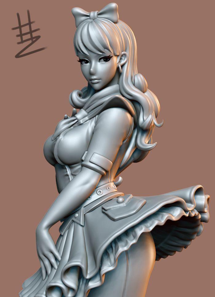 Anime Characters Zbrush : Best zbrush images on pinterest