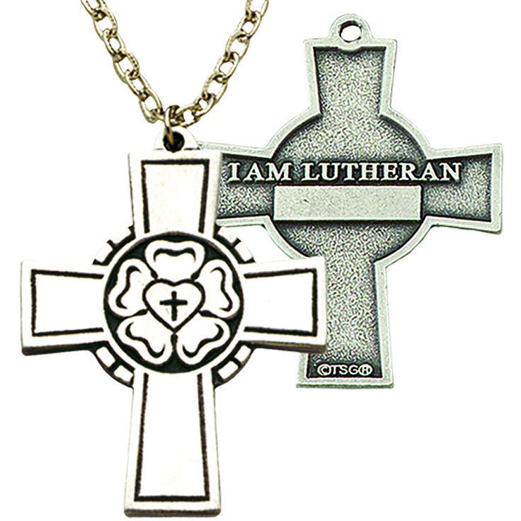 Lutheran Confirmation Cross  