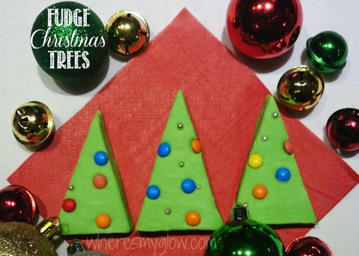fudge-christmas-trees