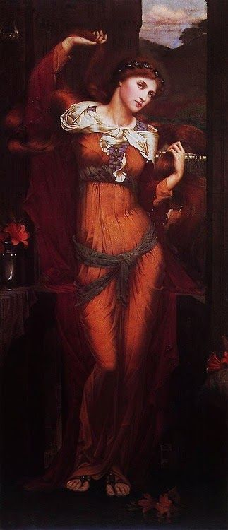 Morgan Le Fay.1880. Art by John Roddam Spencer Stanhope