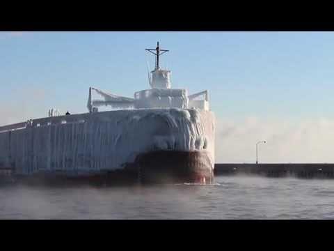 Video » Kold sejlads på de store søer