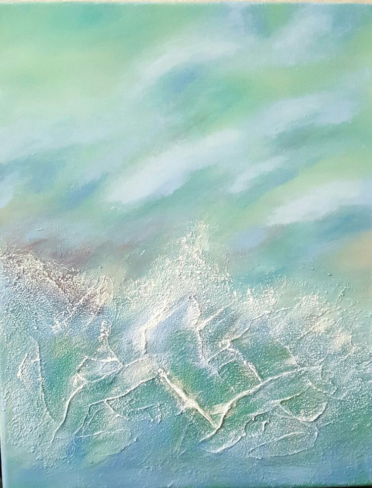 """""""Stormy Sea"""" SOLD"""