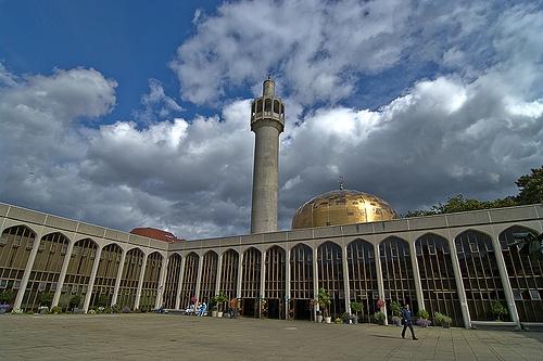 London, Regents Park  Marylebone, London Central Mosque