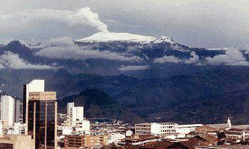 Nevado del Ruiz. Colombia.