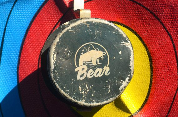Archery Bow fishing reel  Vintage Bear bowfishing by PodunkHollow