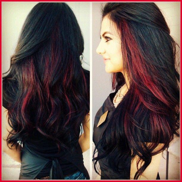 Luxus Haarfarbe Streifen für Schwarzes Haar Sammlung von Haarfarbe Stil #Tweet b …