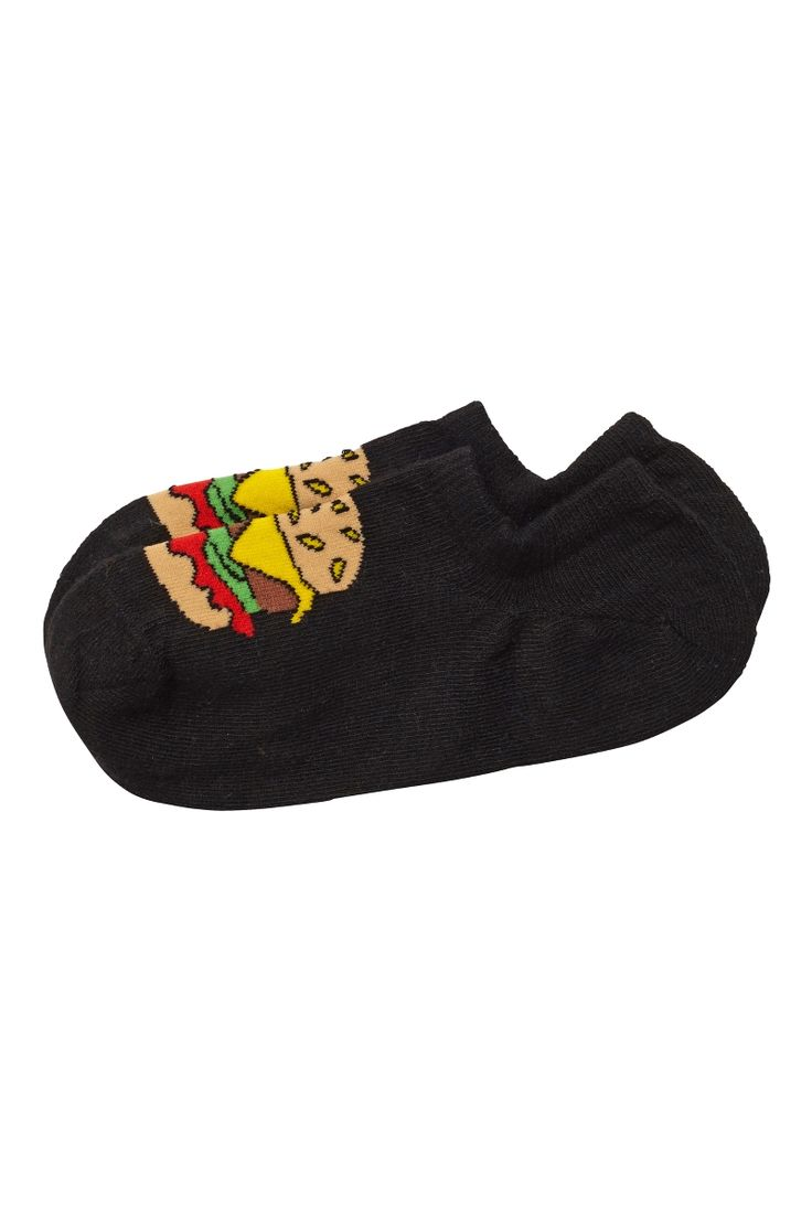 Steffi sneaker sock hamburger