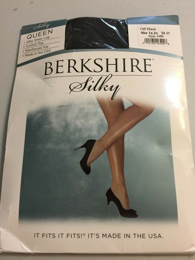 4704379e55e Berkshire Queen Silky Sheer Control Top Pantyhose Hosiery Shapewear Off Blk  1-2x Sheer Control Silky