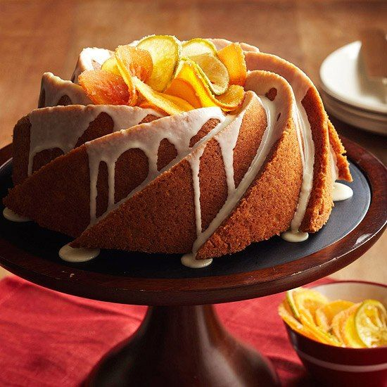 Triple Citrus Pound Cake!