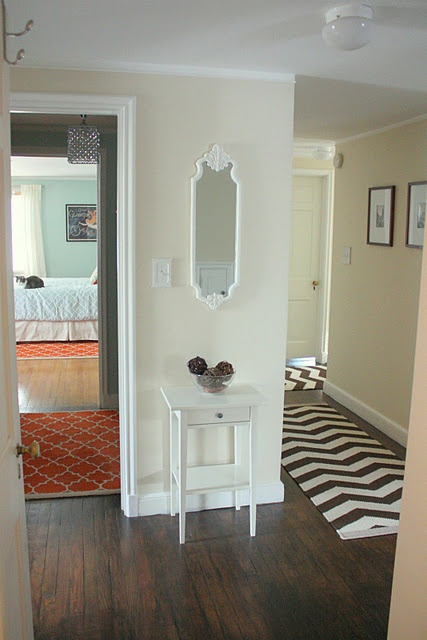 Behr Antique White On Walls Behr Ultra White On Trim Colonial Farmhouse Interiors