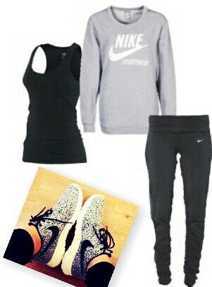 Workout Outfit!! I love dis WHOLE outfit!!