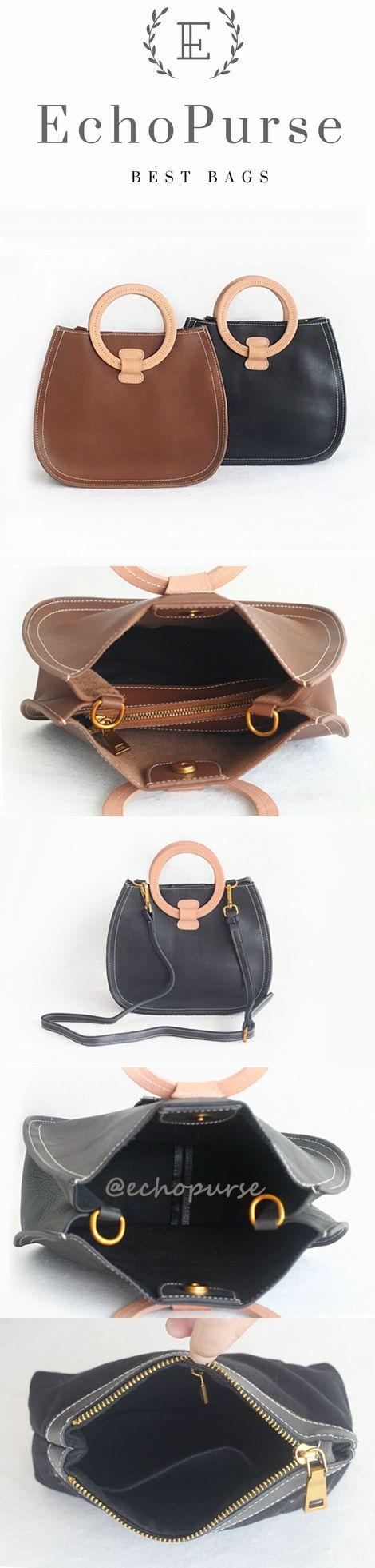 Full Grain Leather Satchel Bag, Shoulder Bag PPM638