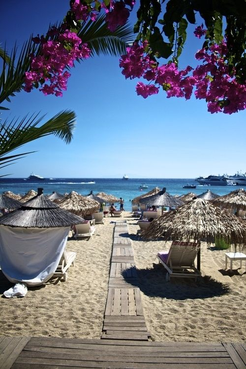 Ornos Beach - Mykonos, Greece