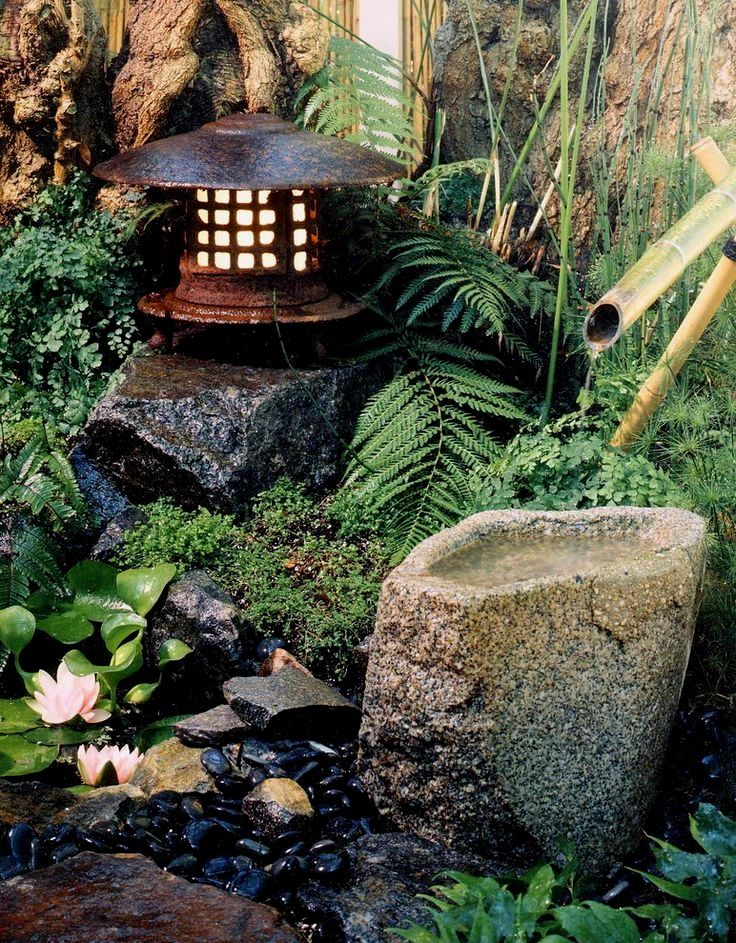 Small Japanese Garden In 2020 Zen Garden Design Japanese Garden Backyard Japanese Rock Garden