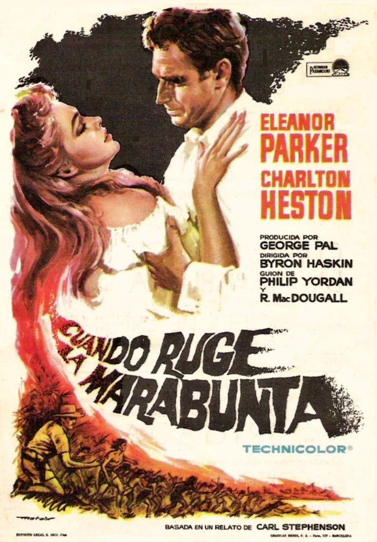 "Cuando ruge la marabunta (1954) The Naked Jungle"" de Byron Haskin - tt0047264"