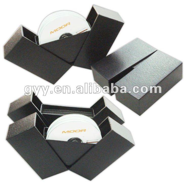 2012 forrado con textura de cd de cartón de embalaje de la caja…