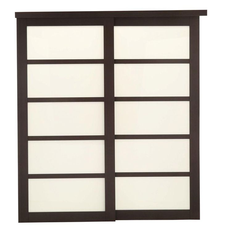Truporte grand 72 in x 80 in 2240 series 5 lite tempered for Decorative tempered glass panels