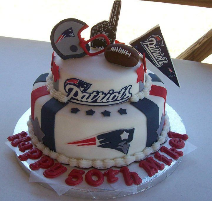 new england patriots birthday cakes