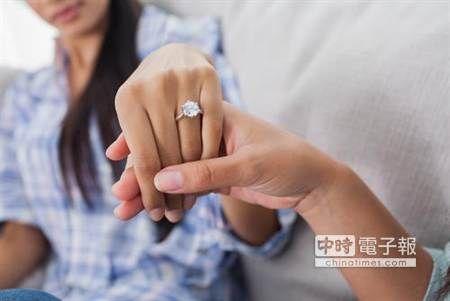 鑽戒婚禮花費 奢華、寒酸都易離婚