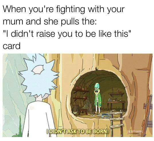 Rick and Morty meme