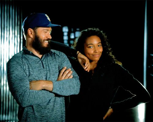 Mark Paul Gosselaar & Kylie Bunbury