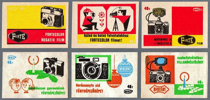 https://flic.kr/p/5mFwJp | I am a camera | Hungarian matchbox labels