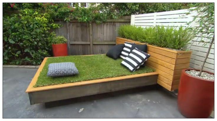 DIY - Grass Day Bed