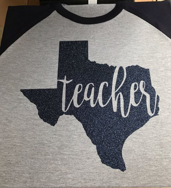 Texas Teacher Shirt by GiggleBoxBoutiques on Etsy