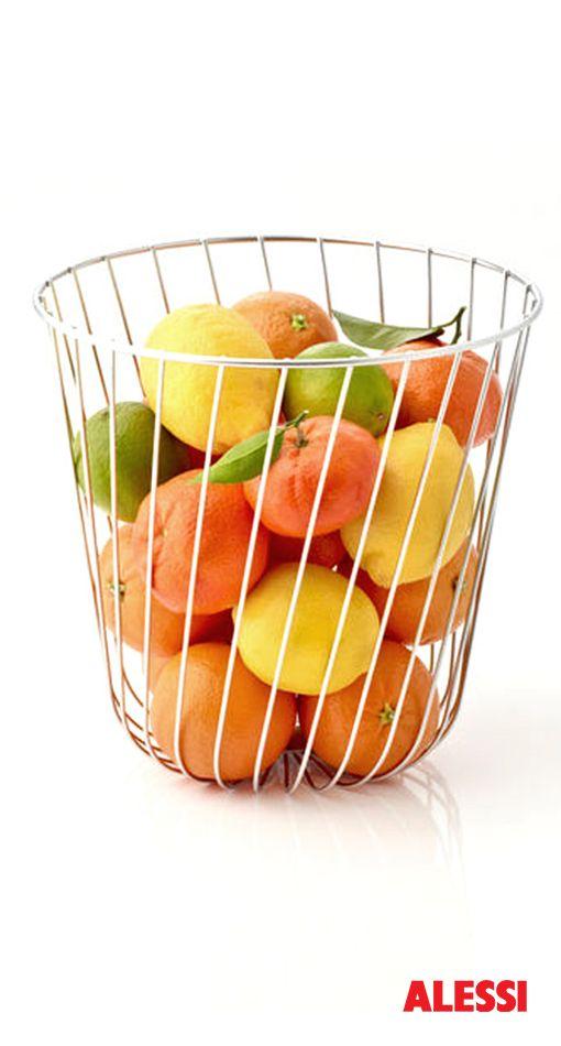 A Tempo - wire citrus basket, Pauline Deltour, 2010 #alessi #design