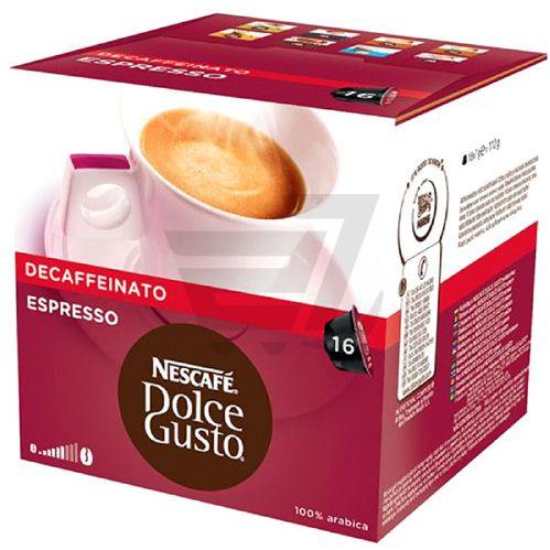 Кава мелена Nescafe Dolce Gusto Espresso Decaffeinato 112 г (7613031525546)  - фото 1