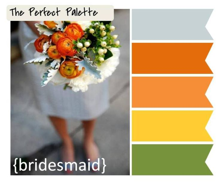 Best Orange And Green Wedding Ideas Images On Pinterest Green - Burnt orange and green wedding colors