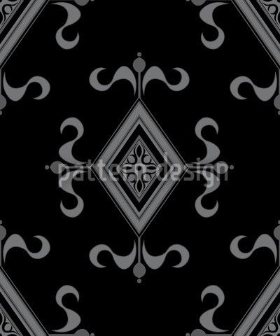 Gothic Black by Martina Stadler available as a vector file on patterndesigns.com